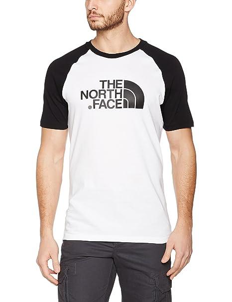 The North Face Raglan Einfach T-Shirt Bekleidung Weitere Sportarten L Weiß/