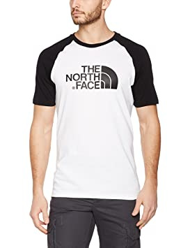 the north face easy short sleeve camiseta hombre