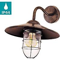 Eglo 94863exterior lámpara, Plata