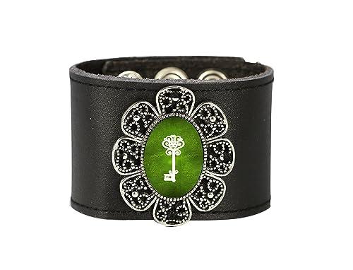 Tizi jewellery, Handgemachtes Lederarmband Urbun Schmuck, Armband