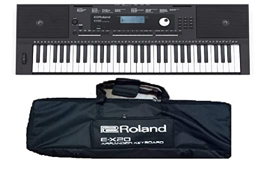 Roland E-X20 Arranger Keyboard with Carry Bag Portable Keyboards at amazon