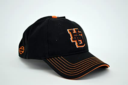 Harley Davidson Men s Embroidered H de D Carta Gorra de béisbol ...