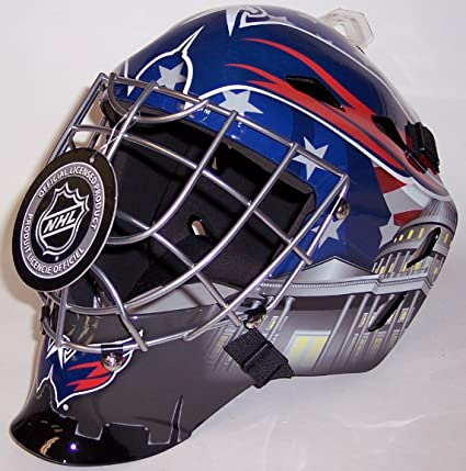Image Unavailable. Image not available for. Color  Washington Capitals NHL  Full Size Youth Goalie Hockey Mask ... c4c7a772c