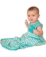 ANTIPODES MERINO Wool Sleep Bag – Premium Baby Sleeping Sack – All Season (Aqua)