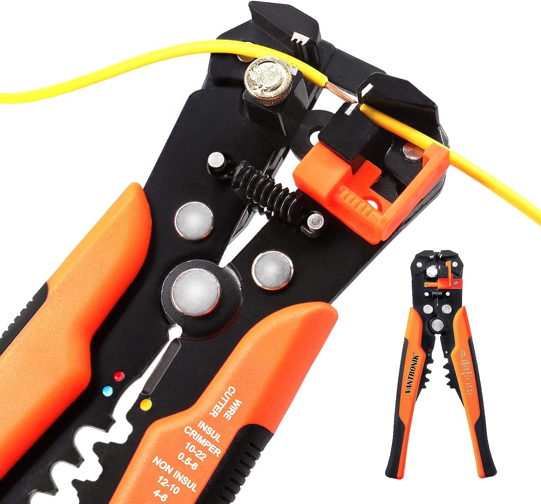 Cable Stripper Cutter Crimper Multitool Stripper Cutter Crimper Tang For 10-22mm
