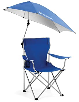 Sklz Super Brella - Silla Plegable para Camping con sombrilla