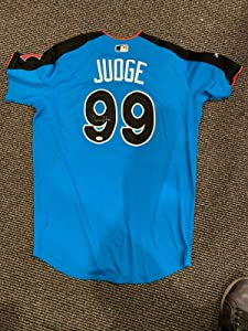 2017 Aaron Judge New York Yankees Mlb A.s. Homerun Derby Signed Jersey Jsa Petco - Autographed MLB Jerseys