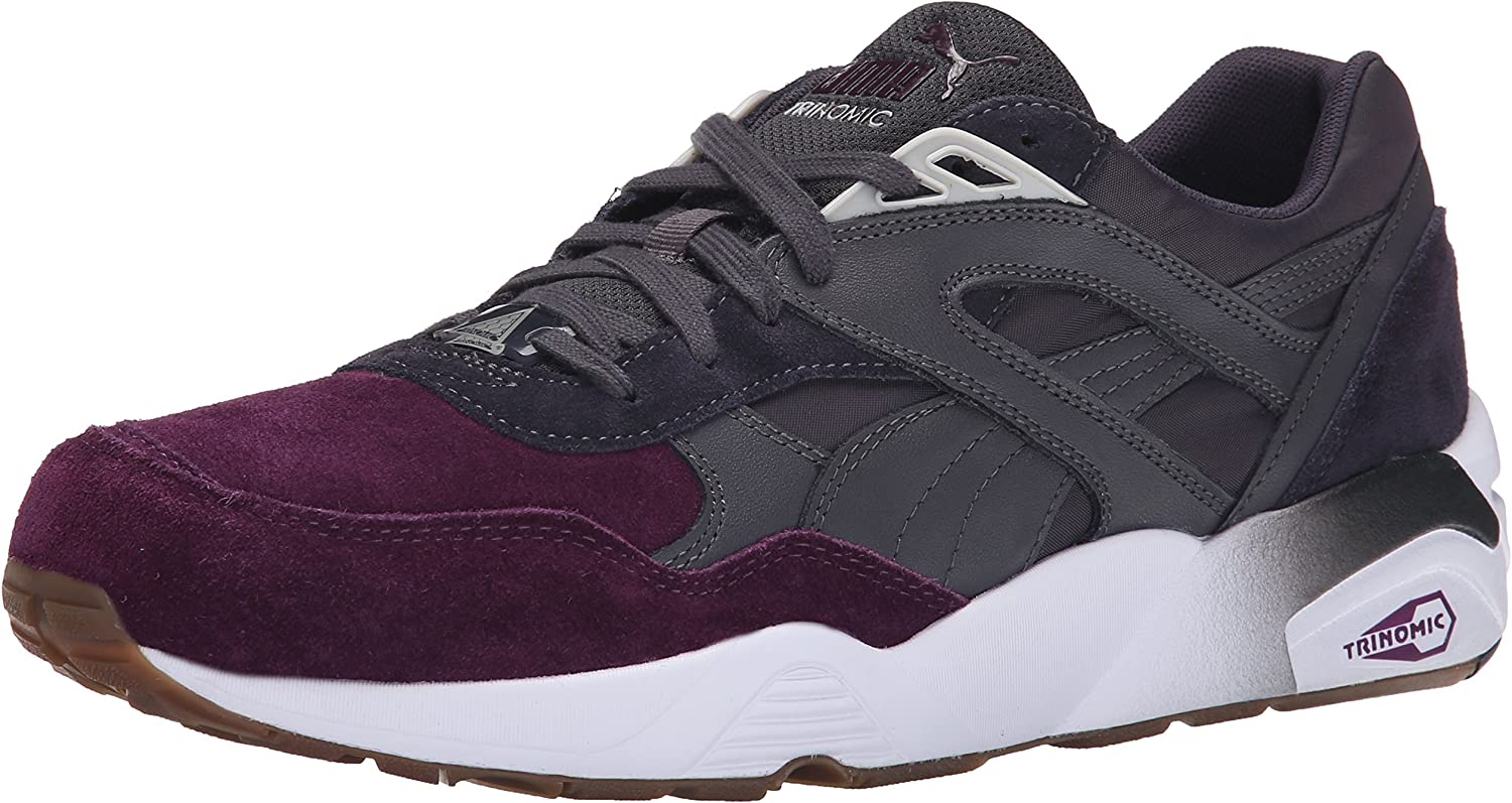 PUMA Men's R698 Blocked Trinomic Fashion Sneaker