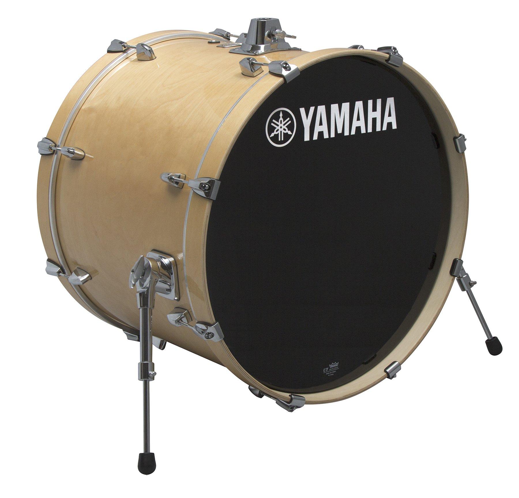 Yamaha Stage Custom Birch 22x17 Bass Drum, Natural Wood