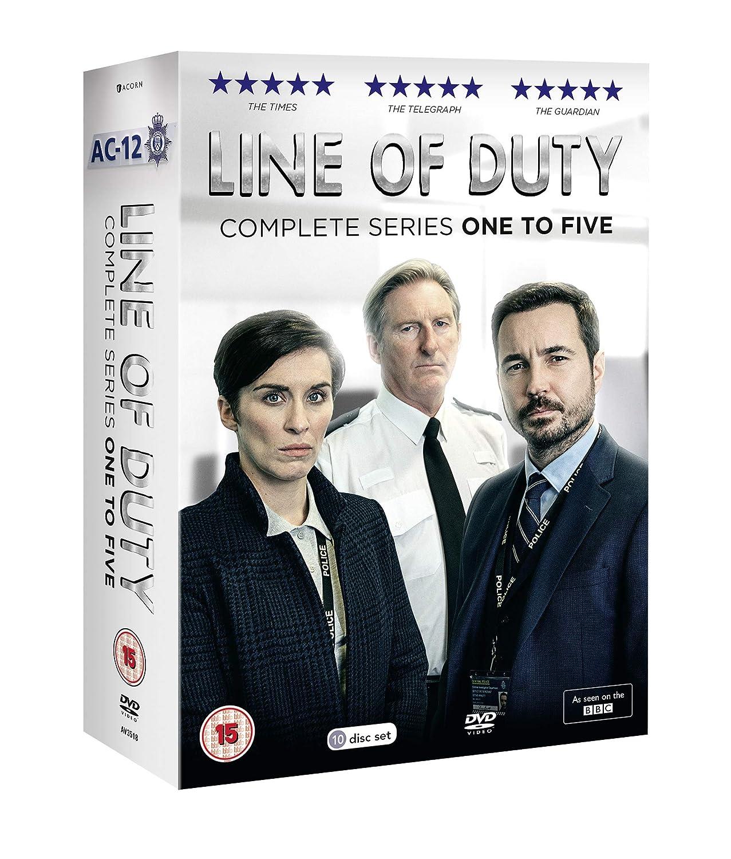 Line of Duty - Series 1-5 Box Set [DVD] [Reino Unido]