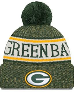 ec4ab9559012e New Era Youth Green Bay Packers Sport Knit NFL Beanie Black