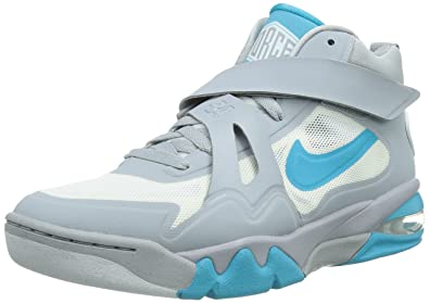 bd6b3acd6c Nike Men's Air Force Max CB 2 HYP Wolf Grey/Gamma Blue/White Basketball