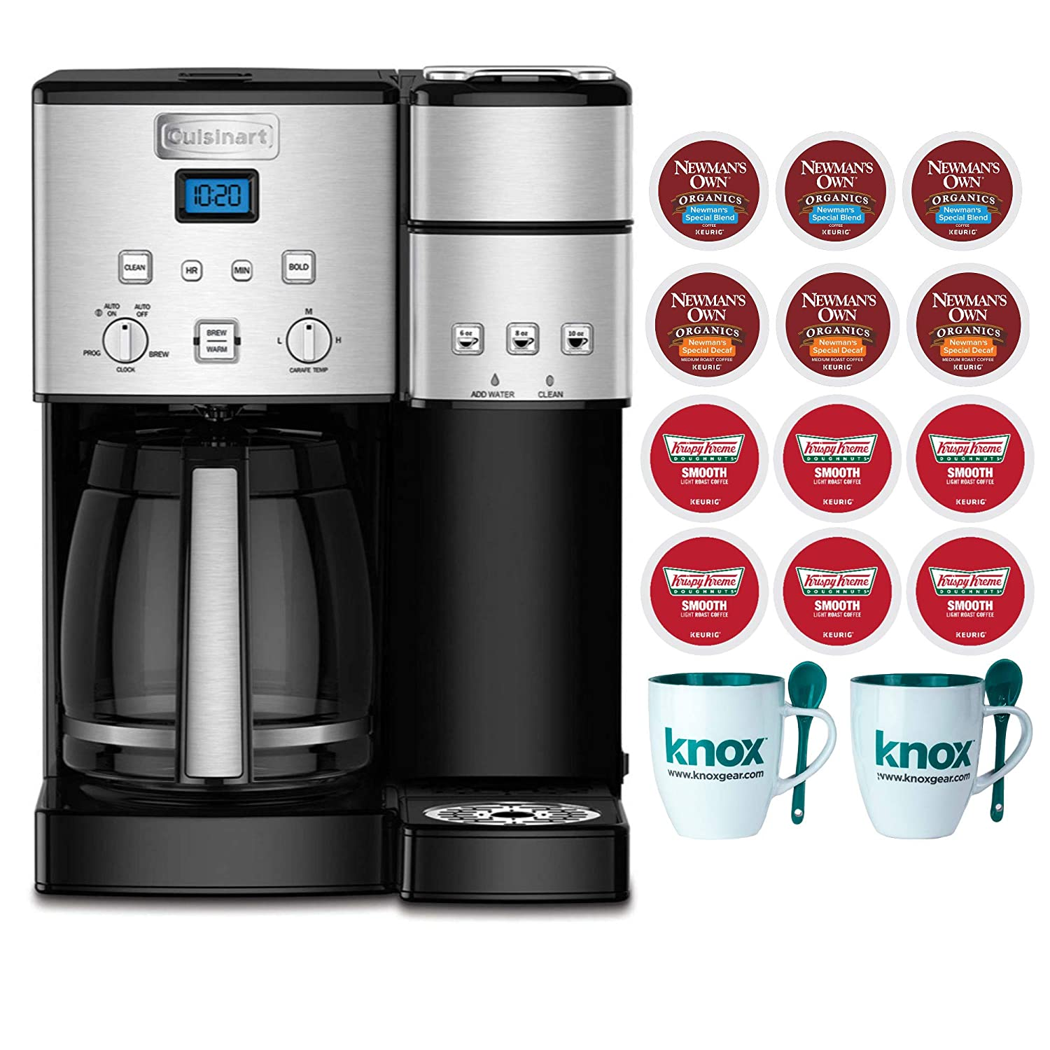 232dd0d731c Amazon.com  Cuisinart SS-15 12-Cup Coffee Maker and Single-Serve Brewer