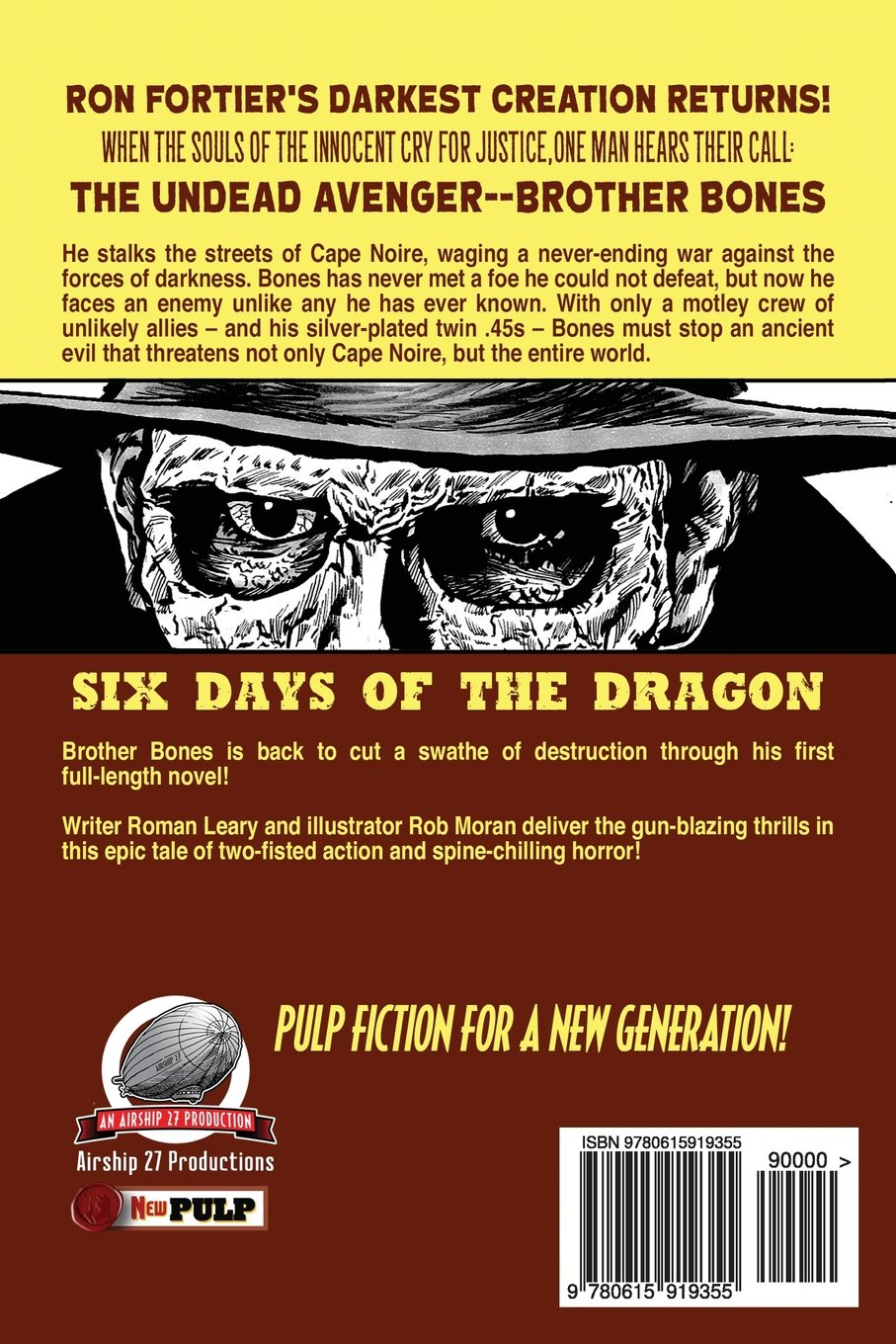 Ron Fortiers Brother Bones: Six Days of the Dragon: Volume 2 ...