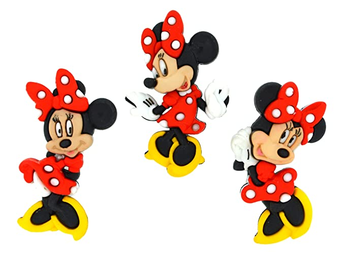 Jesse James Dress It Up Licensed Embellishments-Disney Minnie Mouse ...