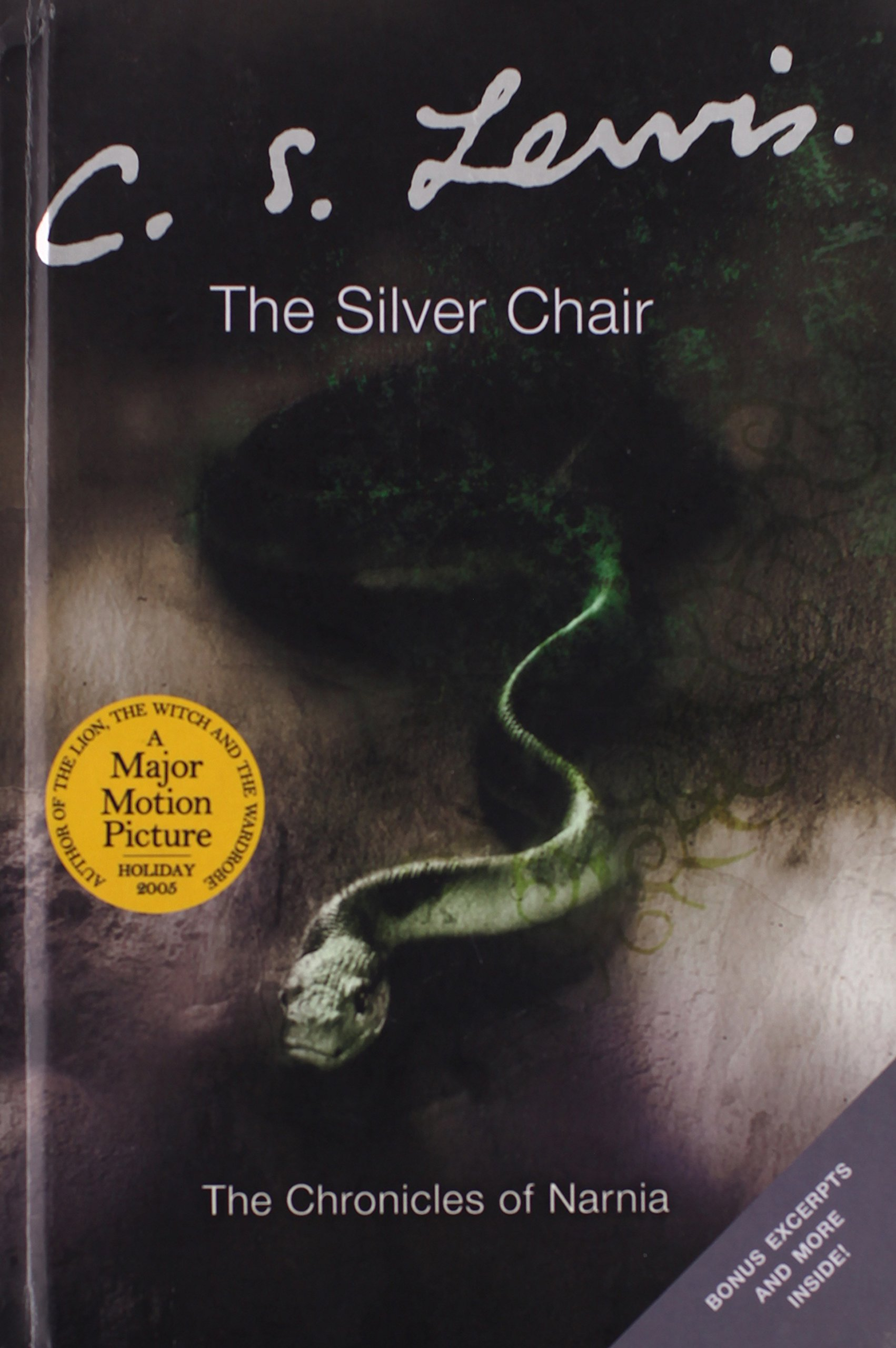The Silver Chair (The Narnia Chronicles, 6): C S Lewis: 9780060884833:  Amazon.com: Books