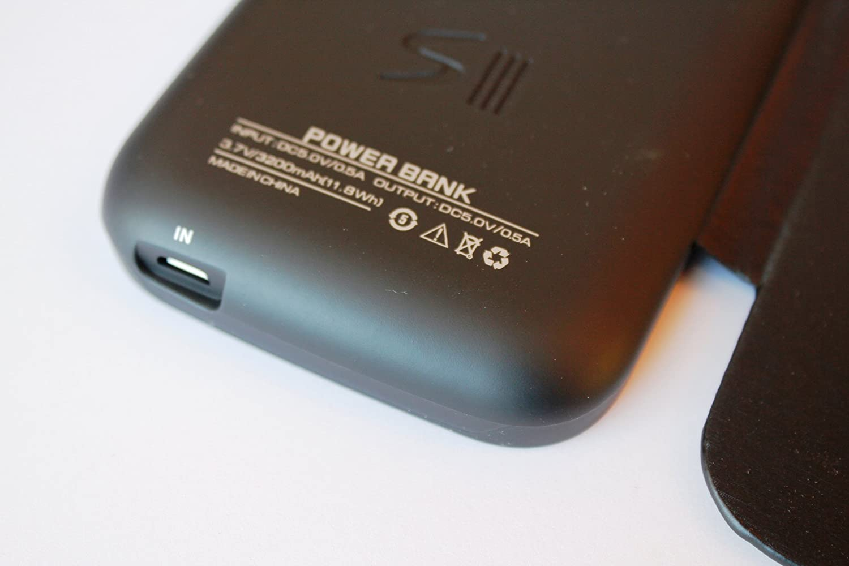 a4a84c995f6 Funda Carcasa con Bateria Samsung Galaxy S3 i9300 con tapa de cuero- Power  Pack Capacidad 3200 mAh: Amazon.es: Electrónica