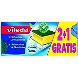 Vileda - Salvauñas antibacterias - Bayeta super absorbente - 2 unidades + 1 gratis