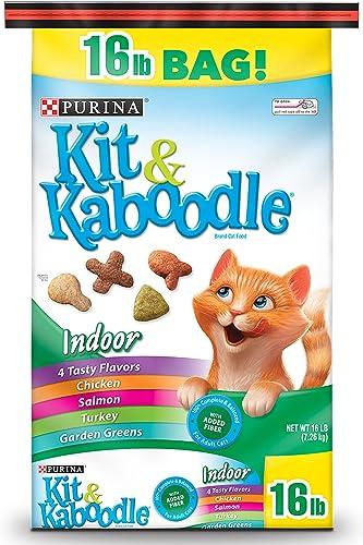 Purina Kit Kaboodle Indoor Dry Cat Food, Indoor – 16 lb. Bag