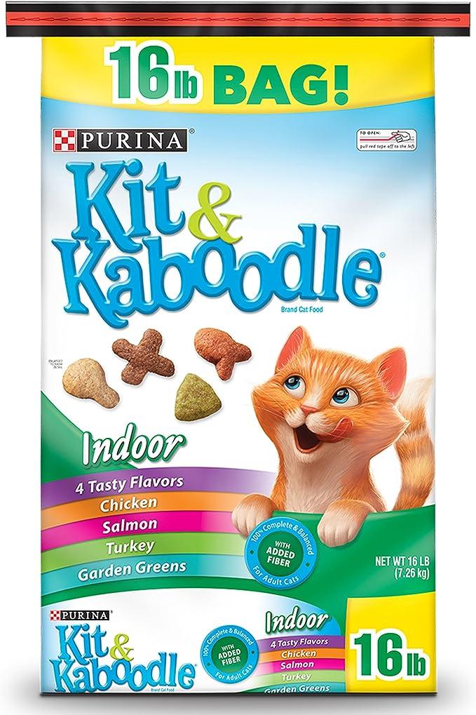 Purina Kit & Kaboodle Alimento seco para gatos en interiores, 16 libras Bolsa: Amazon.es: Bricolaje y herramientas