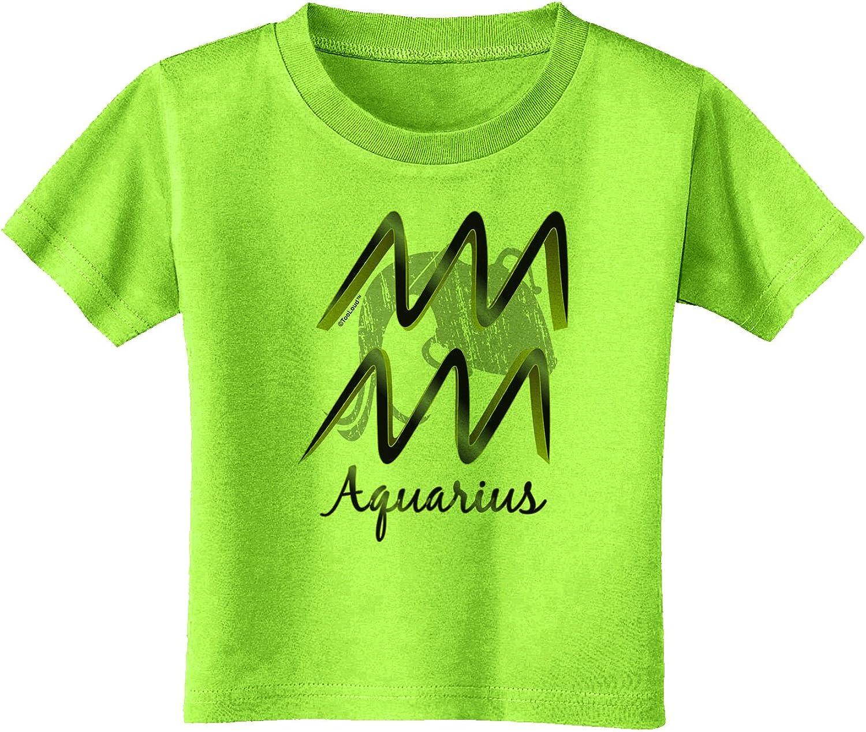 TooLoud Aquarius Symbol Infant T-Shirt Dark