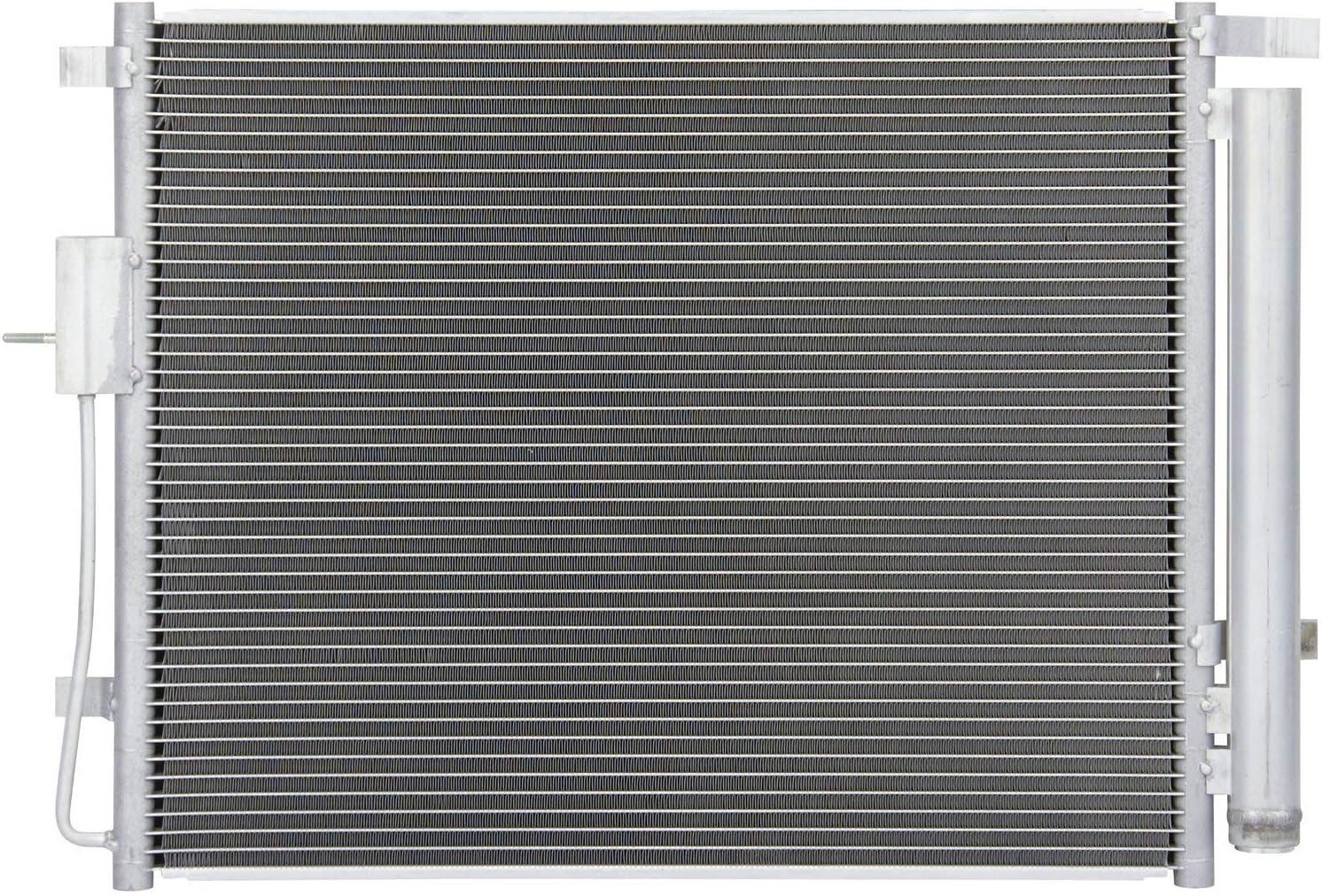 Sunbelt AC Condenser Fan Assembly For Hyundai Santa Fe HY3113109 Drop in Fitment