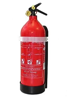 Berühmt Feuerlöscher ABF 6 kg (6 l) mit Halterung und Manometer von ninux VO26