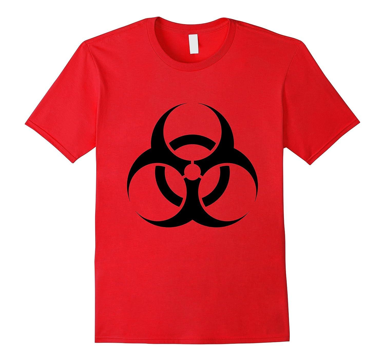 Biohazard Symbol Shirt Science Nerdy Zombie Outbreak Tee-TH