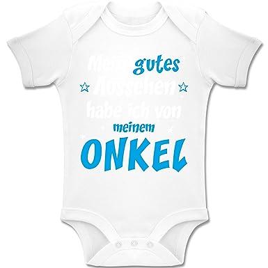 Shirtracer Spruche Baby Mein Gutes Aussehen Onkel Junge Baby
