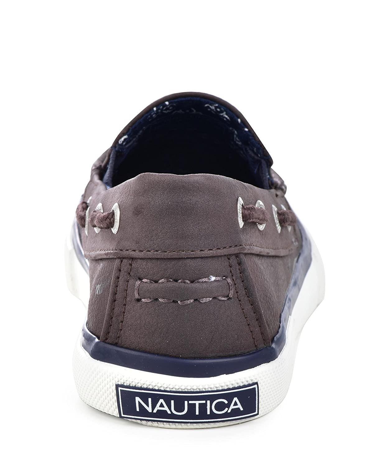 Nautica Doubloon Youth Canvas Twin Gore Slip On Little Kid//Big Kid