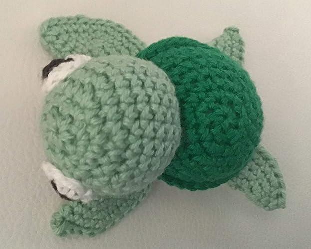 Schildkröte Ba Yspielzeug Amigurumi Häkeln Amazonde Handmade