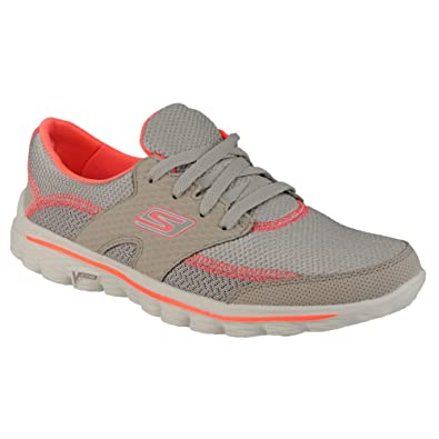 385fa0f1987275 Skechers SK13592 Go Walk 2 Stance Ladies Sports Shoes   Womens Trainers (3  UK)