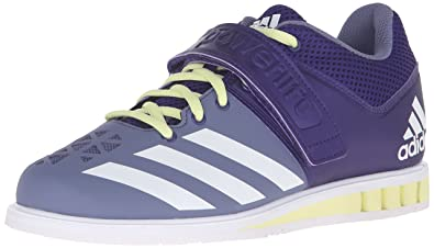 0a5f3845410f adidas Women s Powerlift.3 Cross-Trainer Shoes Collegiate Purple White Ice  Yellow