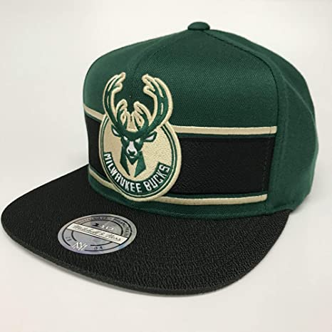 Mitchell & Ness NBA Milwaukee Bucks Eredita - Gorra: Amazon.es ...