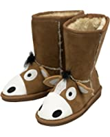 Lazy One Toasty Toez Childrens Slippers: Horse (Medium (10/12))