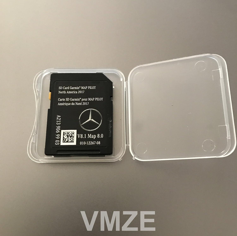2017 2018 mercedes benz glc e c class map sd card