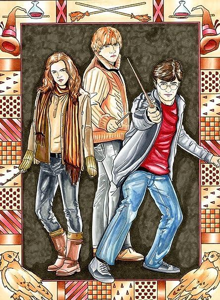 ravgar – Ron Weasley de Harry Potter – Hermione Granger como ...