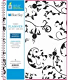 """Blue Sky 2017-2018 Academic Year Weekly & Monthly Planner, Twin-Wire Bound, 8.5"""" x 11"""", Analeis"""