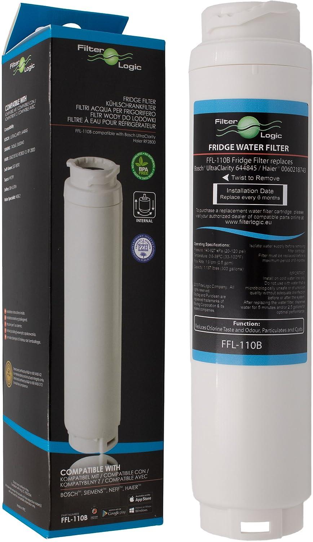 FilterLogic FFL-110B Filtro de agua compatible con 3M UltraClarity ...