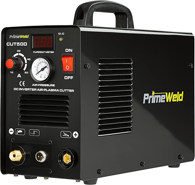 best plasma cutter: PRIMEWELD Premium & Rugged 50A Air Inverter Plasma Cutter is something you can't ignore