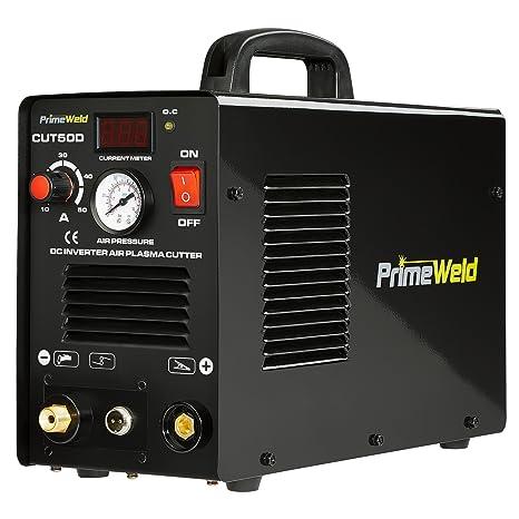 PRIMEWELD Premium & Rugged 50A Air Inverter Plasma Cutter Automatic on