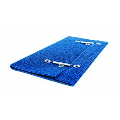 Camco Wrap Around Step Rug- Protects Your RV from Unwanted Tracked in Dirt, Works on Electrical and Manual RV Steps (Blue) (42924): Automotive