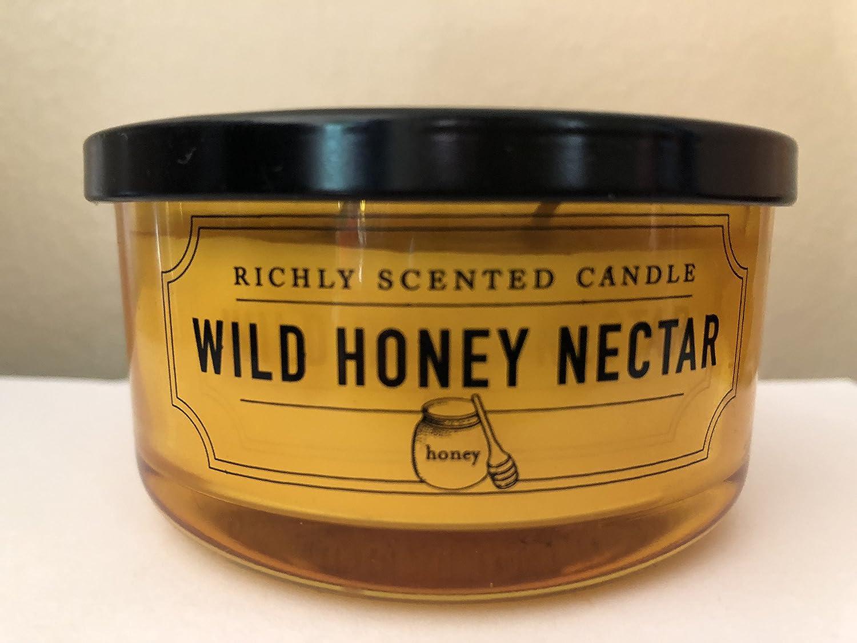 1着でも送料無料 DWホームWild Wick Honey B078GZ7FNC Nectar豊かな香りSmall 2 Wick Candle 4.65oz DWホームWild B078GZ7FNC, ビキヤ:07805e30 --- egreensolutions.ca
