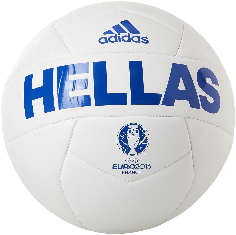 adidas Euro 16 Greece Capitano Balón, Men, Bold Blue/White, 5 ...