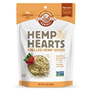 Manitoba Harvest Hemp Hearts Raw Shelled Hemp Seeds, 1lb; with 10g protein& Omegas per Serving (Packaging May Vary), Non-GMO, Gluten Free