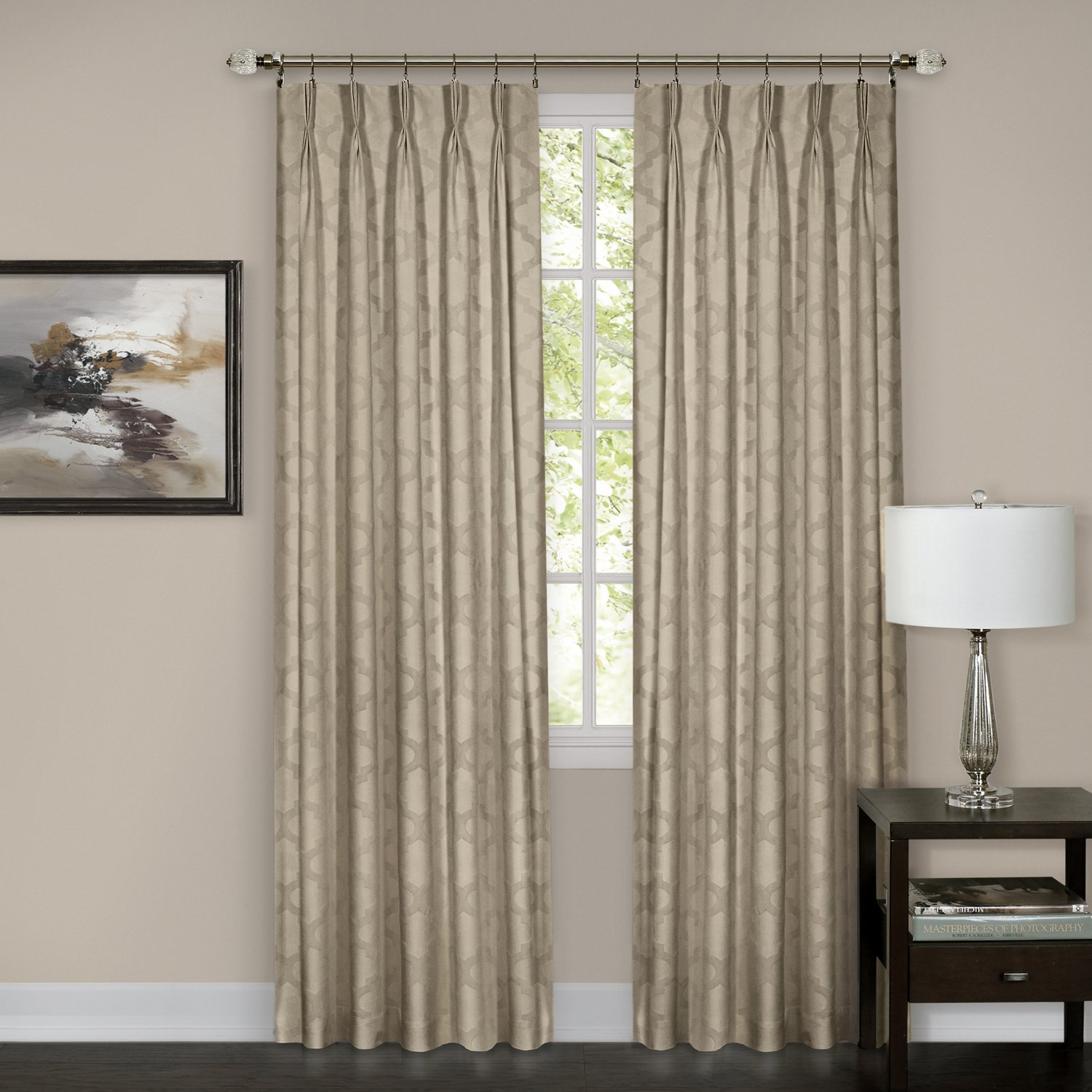 panel patio crosby pleat x drapes thermal pleated to expand click pinch room p darkening