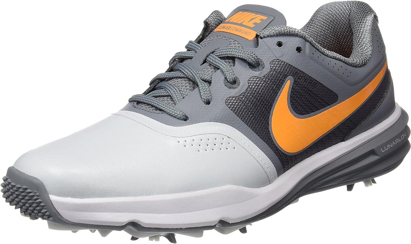Nike Lunar Command - Zapatillas de Golf para Hombre, Color Plata/Naranja/Gris/Negro, Talla 49: Amazon.es: Zapatos y complementos
