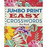 Jumbo PrintEasy Crosswords #1 (Large Print Crosswords)