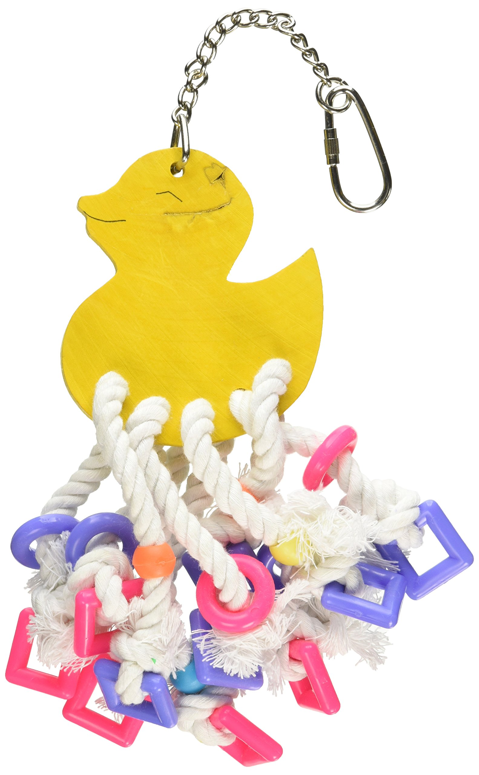 Jungle Talk Pet Products BJN98605 Lots of Legs Bird Activity Toys, Small/Medium