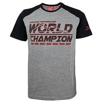 Michael Schumacher T-Shirt World Champion Wei/ß